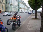 St. Petersburg vor dem Winterpalast