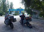 Ankunft in der ehemaligen Hauptstadt von Kasachstan Alma Ata