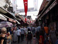 Auf dem großen Basar in Istanbul.